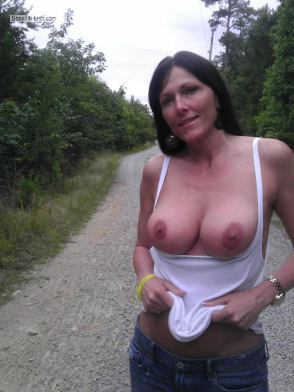 Big Tits On The Road 32