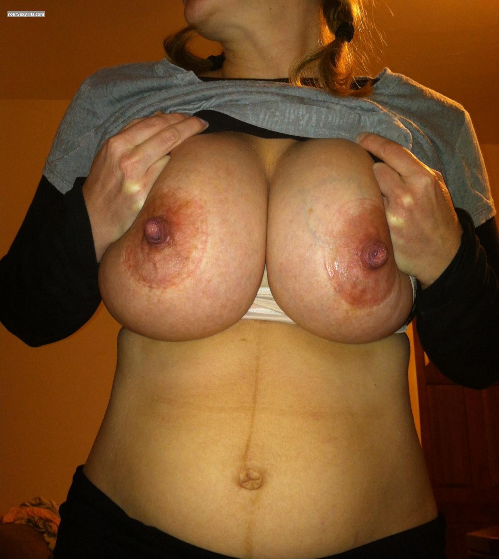 tits leaking